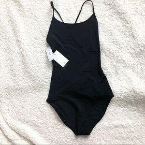 Black Aritzia Wilfred Basita Bodysuit! NWT!